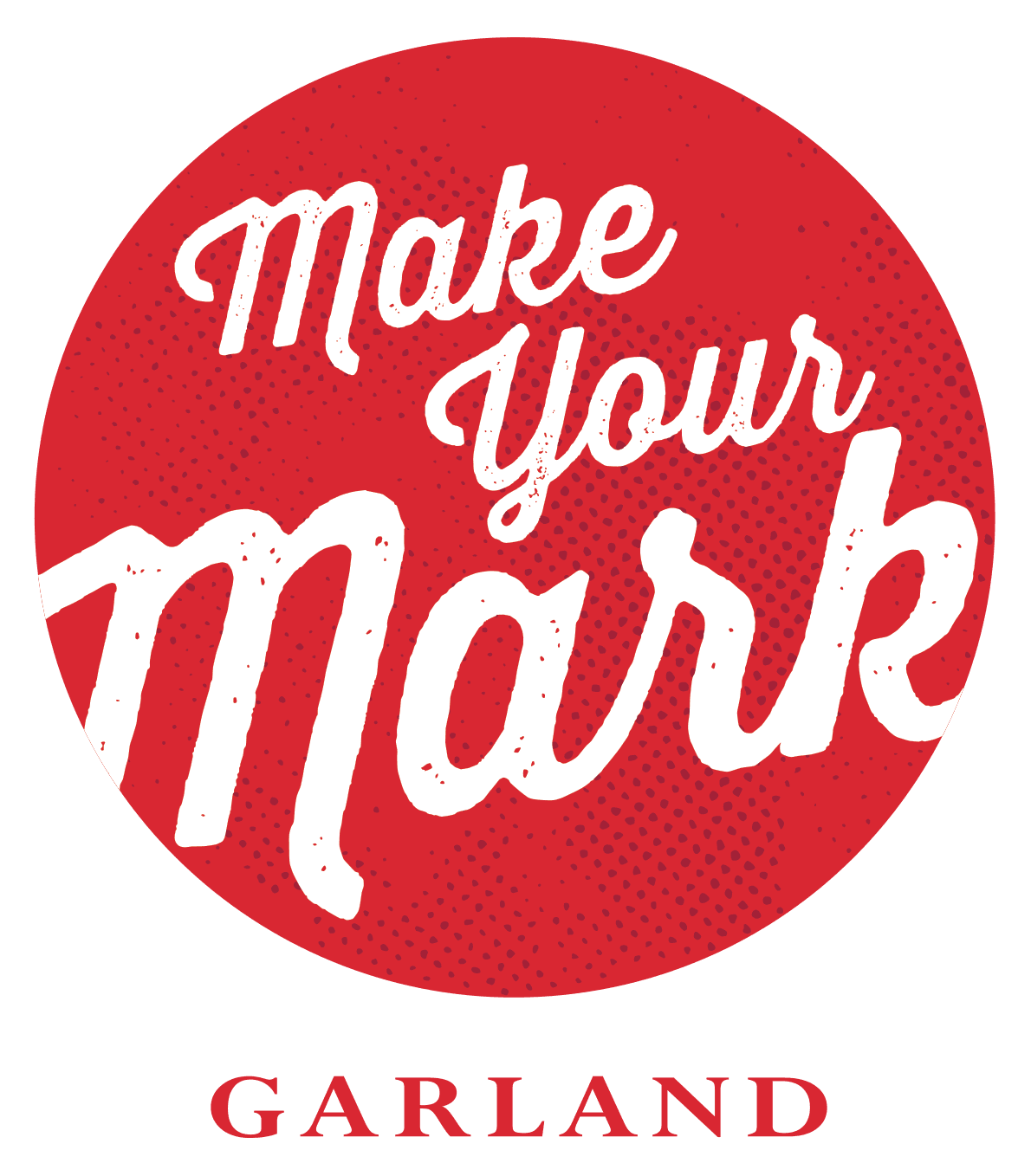 Make Your Mark Garland Logo