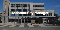 link to Assistant City Manager job posting